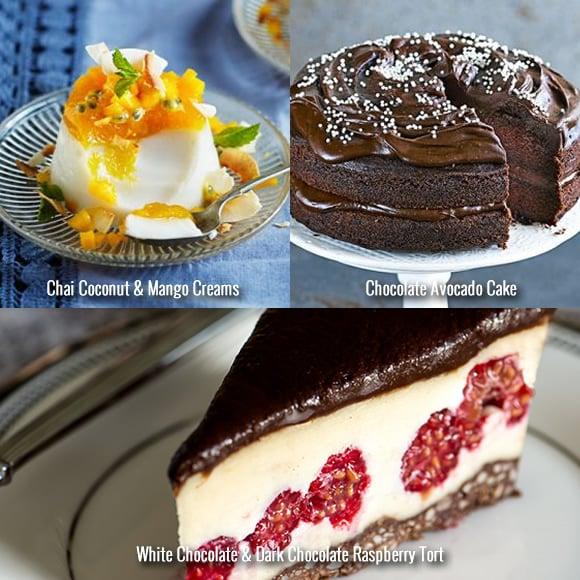 Festive Vegetarian Recipes Desserts