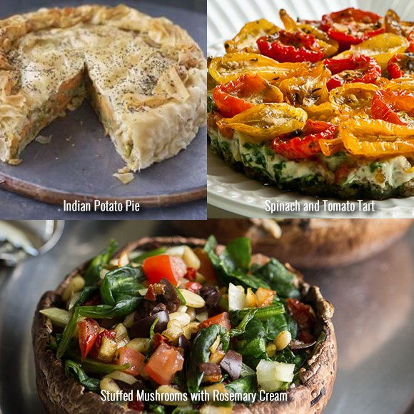 Festive Vegetarian Recipes Mains