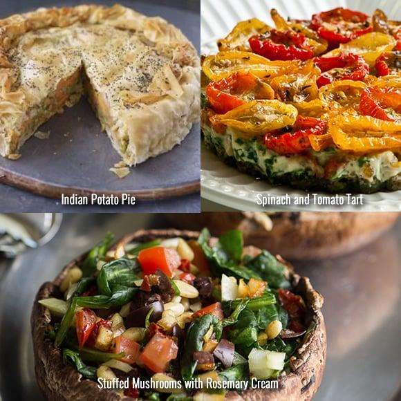 Festive Vegetarian Recipes Mains