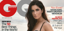 Katrina Kaif suits up for GQ India