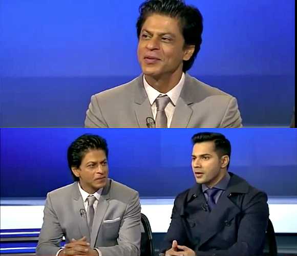 Sky News SRK and Varun