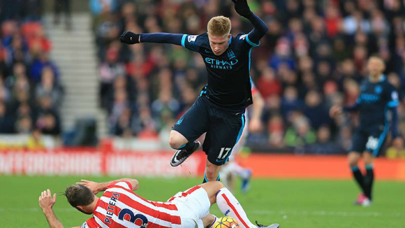 Stoke enjoy Magnificent Win over Man City
