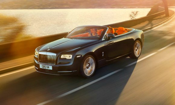 Top Cars 2016 Rolls Royce Dawn