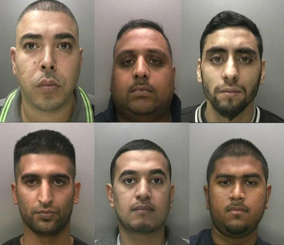 Asian men jailed for gun and drug crimes
