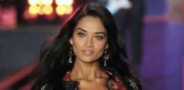 Shanina Shaik stuns at the Victoria's Secret fashion show