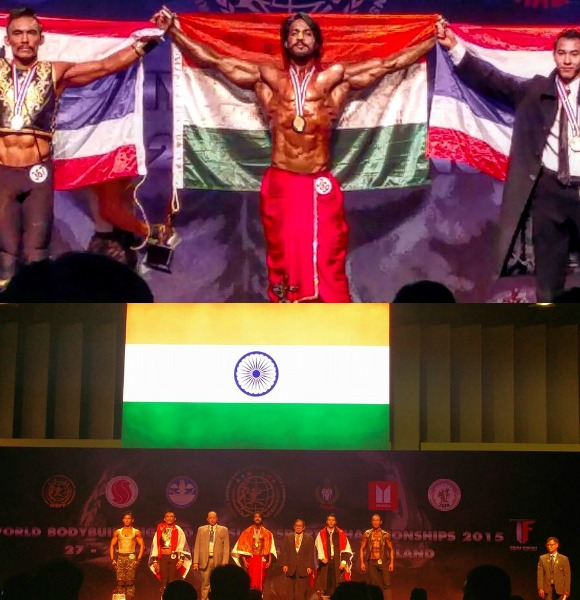 Indian Bodybuilder becomes Mr World