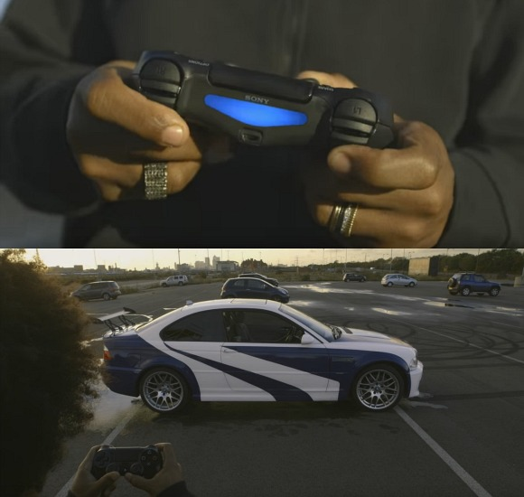 Willian has custom Need For Speed car made