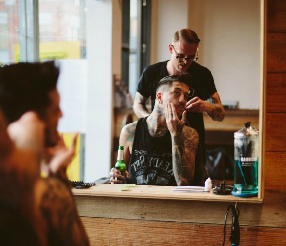 Barbershop visit