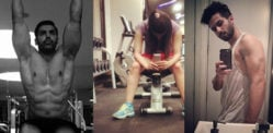 Gym Workout Photos of Bollywood Stars
