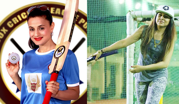 Box Cricket League Punjab - Ameesha Patel and Hard Kaur