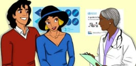 Disney Princess drawings promote Sexual Health