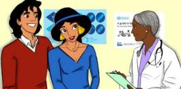 Disney Princess drawings promote Sexual Health