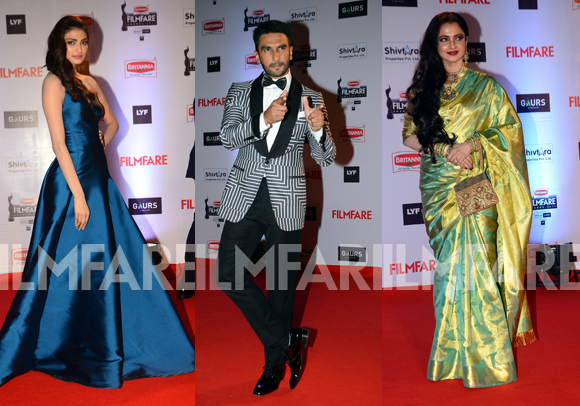 61st Filmfare Awards 2016 Winners