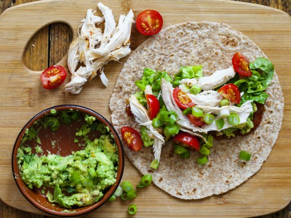 Healthy-Lunch-Recipes-Work-Turkey-Wrap