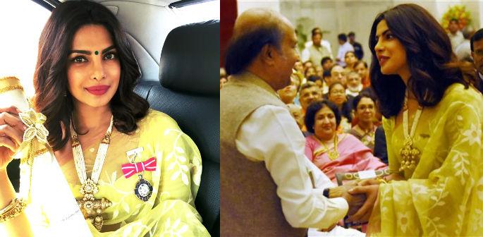Priyanka Chopra awarded Padma Shri Honour