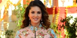 Sunny Leone blooms in Parul J Maurya design