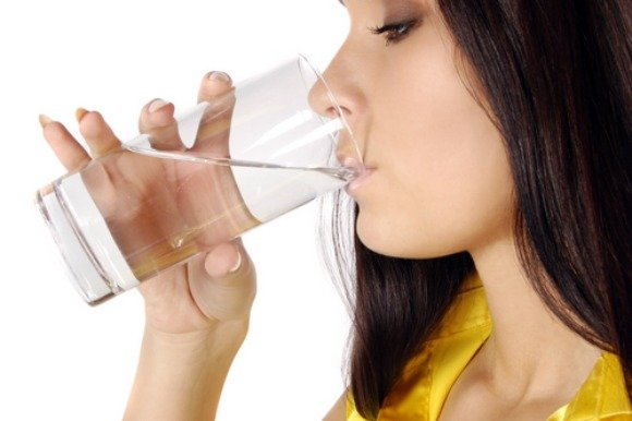 healthy hair - drinking water