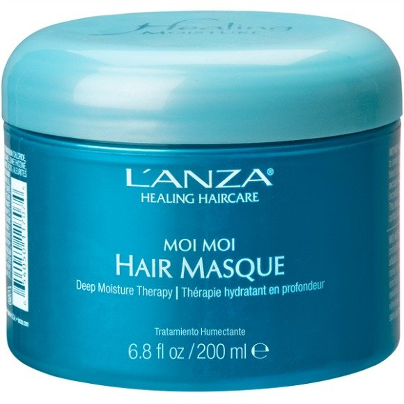 healthy hair - moi moi masque