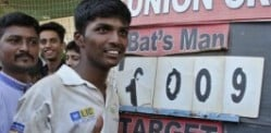Cricket Record broken by Indian Schoolboy