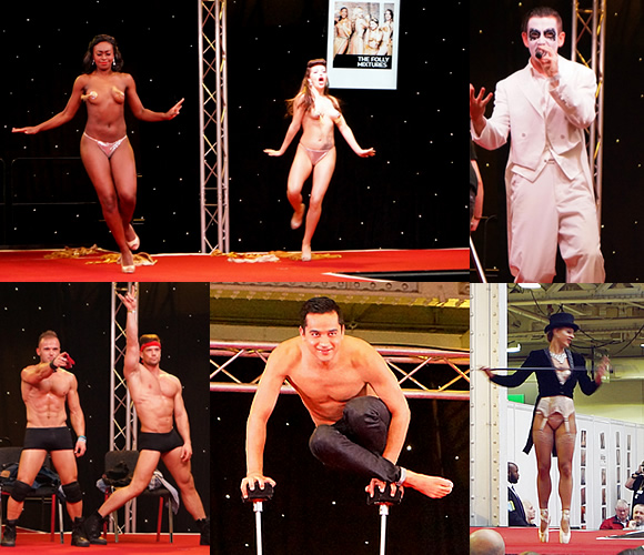 Sexpo UK 2015 Performers