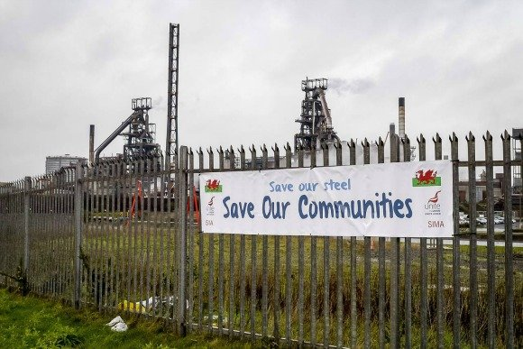 Tata Steel cutting 1050 Jobs in UK