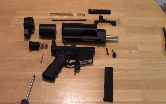 3D-Printed Semi-Automatic Gun is Legal add 2