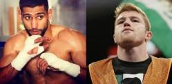 Amir Khan vs Saul Alvarez