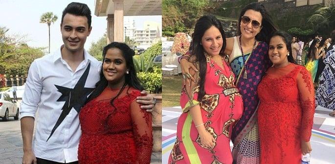 Arpita Khan Baby Shower photos