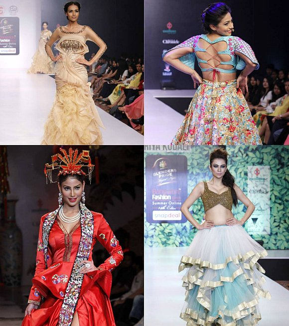 Bangalore fashion week 2016 highlights desiblitz Bangalore fashion style week