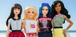 Barbie reveals New Shapes and Colours for Dolls
