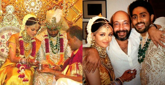 Bollywood weddings Aishwarya and Abhi
