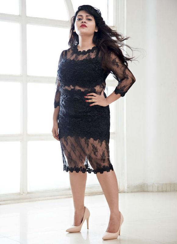 Elle India's Plus-sized Model Photoshoot- extra image