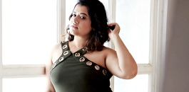 Elle India features Plus-sized Model in Photoshoot