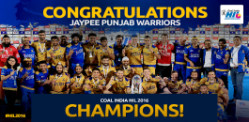 Winners of Hockey India League Final 2016