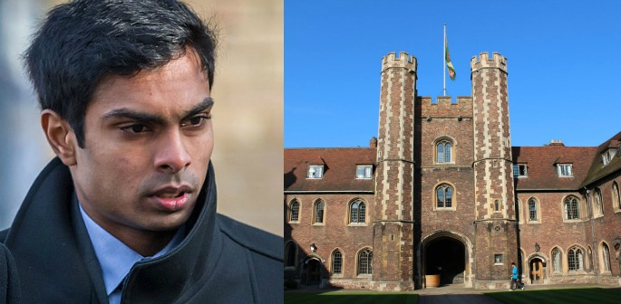 Indian Cambridge University Student cleared of Rape