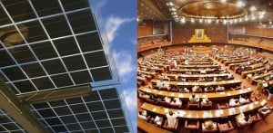Pakistan's Parliament first to run on Solar Power