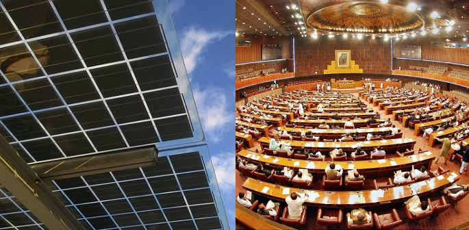 Pakistan's Parliament first to run on Solar Power