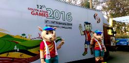 भारत में दक्षिण एशियाई खेलों में भाग लेने के लिए पाकिस्तान ने छवि 2 को चित्रित किया
