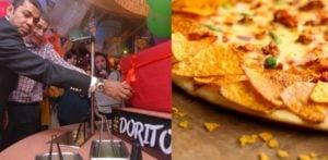पिज्जा हट ने पाकिस्तान में डोरिटोस पिज्जा का खुलासा किया