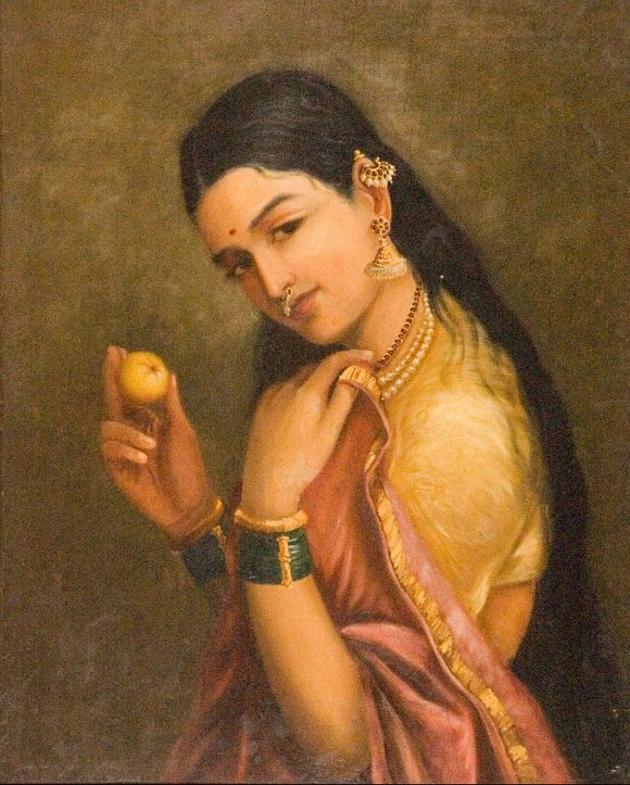 Ravi-Varma-Oil-Paintings-Fruit