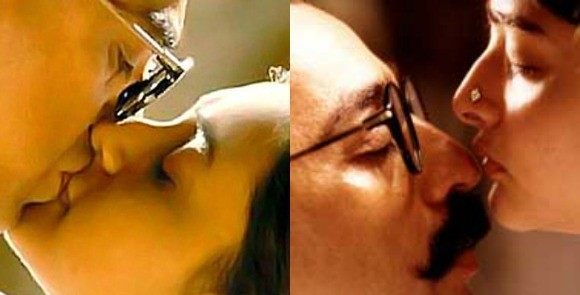 rani mukherjee bollywood kisses