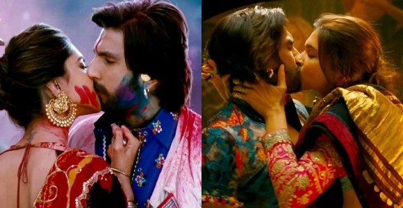 ranveer and deepika bollywood kisses