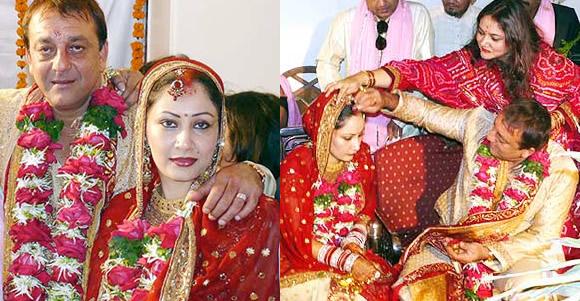 Sanjay Dutt and Manyata Wedding
