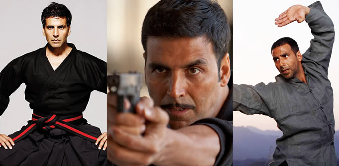 Best Action Scenes of Akshay Kumar