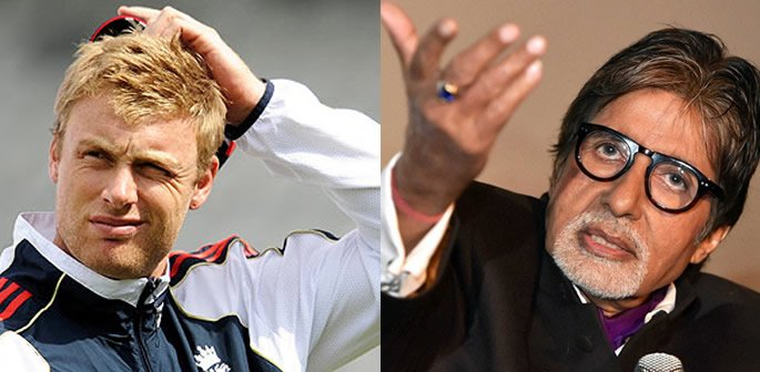 Andrew Flintoff candidly discovers who is Amitabh Bachchan