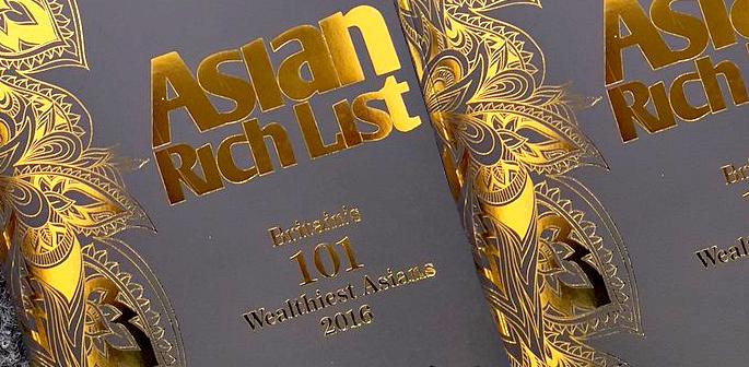 The Asian Rich List 2016