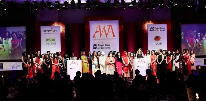 Asian Women of Achievement Awards Nominees 2016