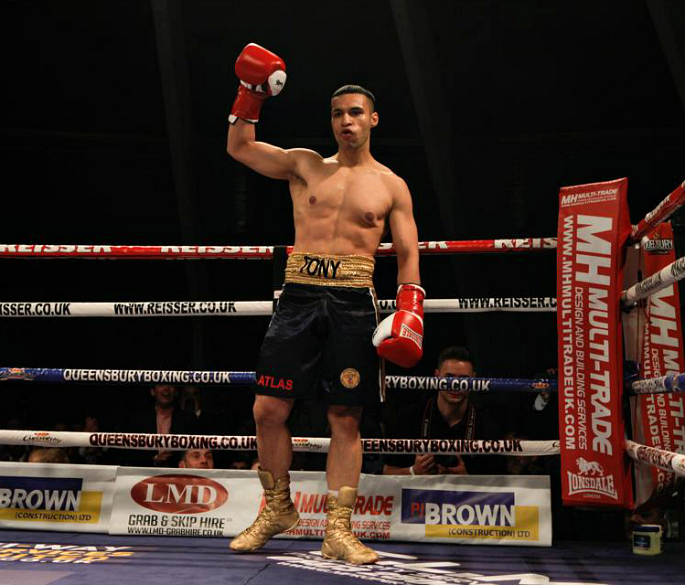 Tony Bange makes Pro Boxing Debut
