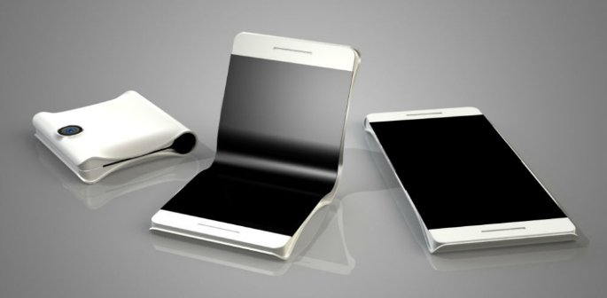 First Samsung Foldable Smartphone to Launch in 2016?