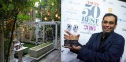 ভারতীয় শেফ 50 এশিয়ার সেরা 2016 রেস্তোঁরা জিতেছে